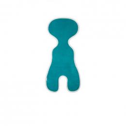 Protège siège auto avec filet respirant 3D - Turquoise