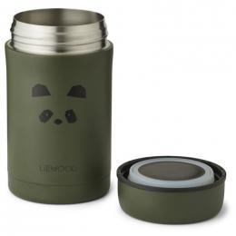 Pot alimentaire thermique Bernard - Panda hunter green