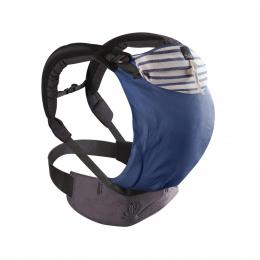 Porte bébé physiologique préformé - Néo V2 - Marin