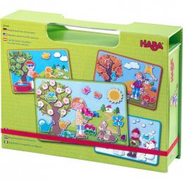 Boîte de jeu magnétique - Les 4 saisons
