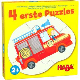 4 premiers puzzles - Véhicules d'intervention