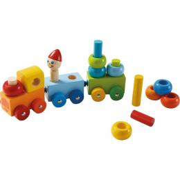 Train découverte Ronds multicolores - à partir de 1 an