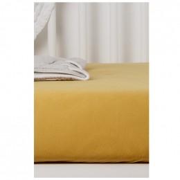 Drap Housse en Coton Bio pour lit bébé - 60x120 cm - Miel
