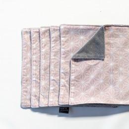 Essuie-tout et serviette de table - lot de 6 - Casual