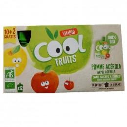 Cool Fruits - Pomme Acerola - 12 gourdes