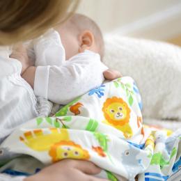 Couverture bébé en coton bio - ZOO