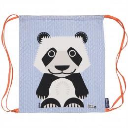 Sac d'activités enfant en coton BIO - Bébé panda