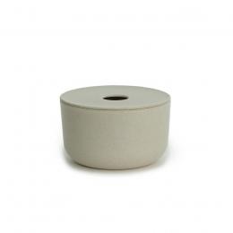 Boîte de stockage salle de bain en bambou - Stone