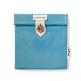 Pochette casse-croûtes lavable et réutilisable Snack'n'Go - Bleu