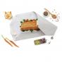 Pochette sandwich lavable et réutilisable Boc'n'Roll BIO - Gris