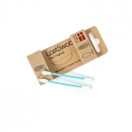 Recharges LastSwab - Coton tige et coton tige beauté réutilisables - Turquoise