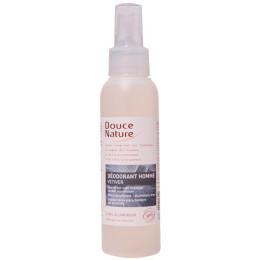 Déodorant Vetiver Homme sans aluminium Spray 125 ml